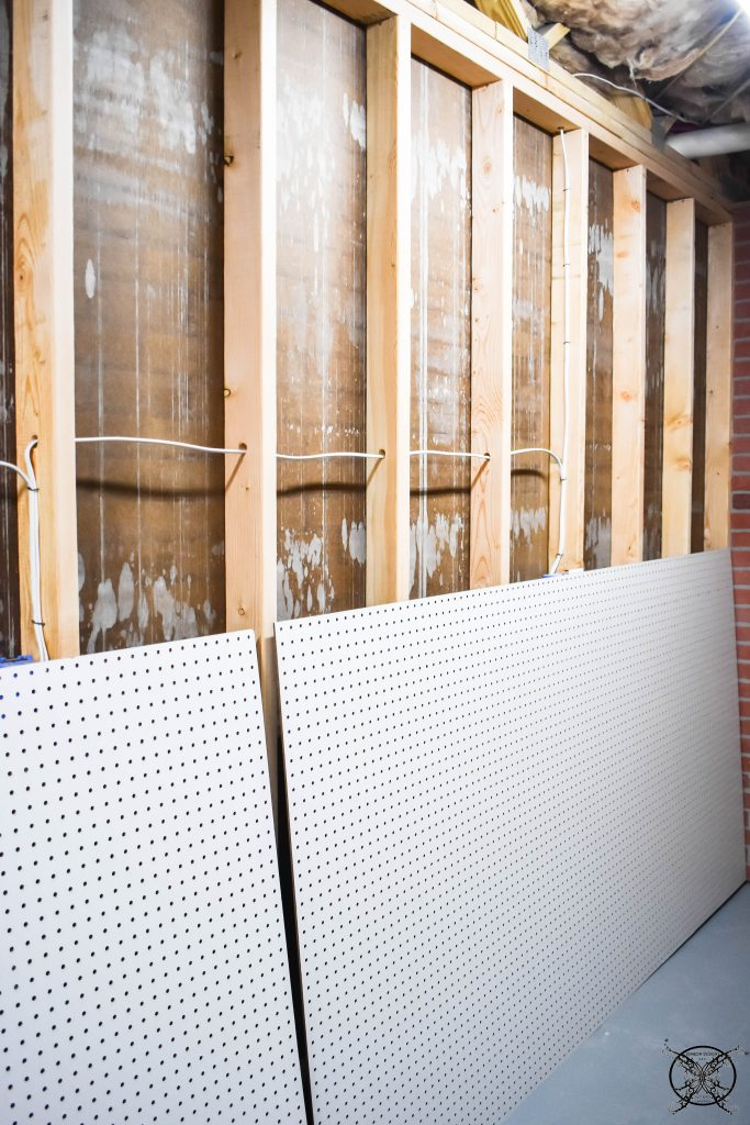 Adding Pegboard JENRON DESIGNS