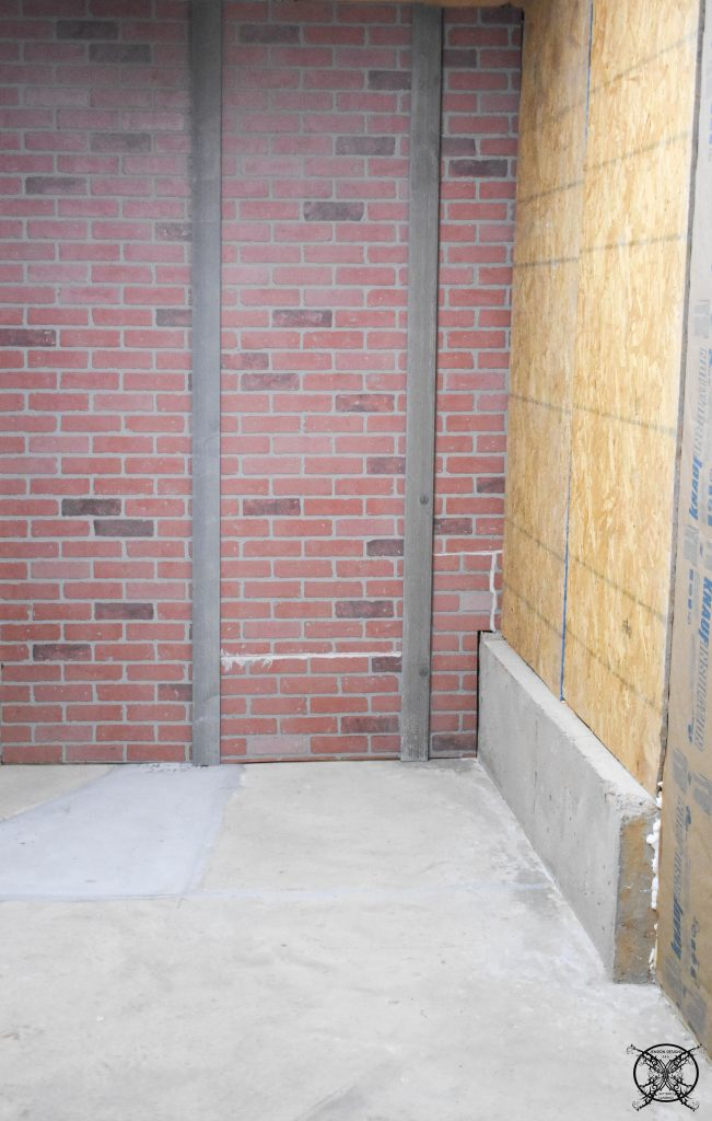 Adding trim Rails to Brick Panels JENRON DESIGNS