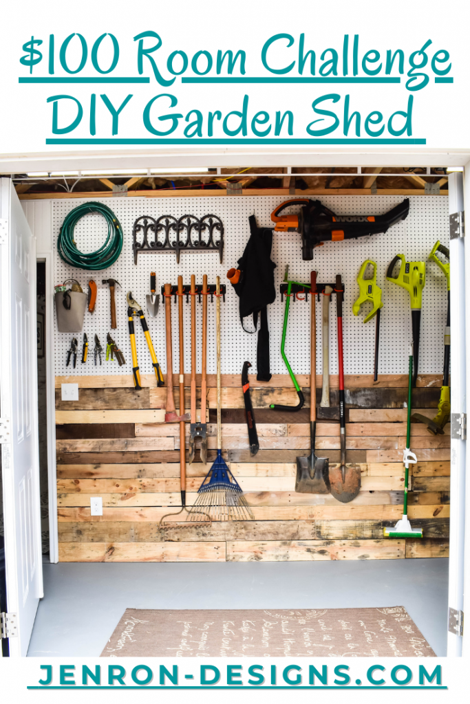 DIY Garden Shed JENRON DESIGNS