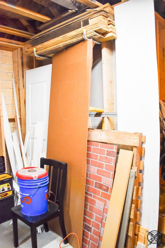 Leftover building materials JENRON DESIGNS
