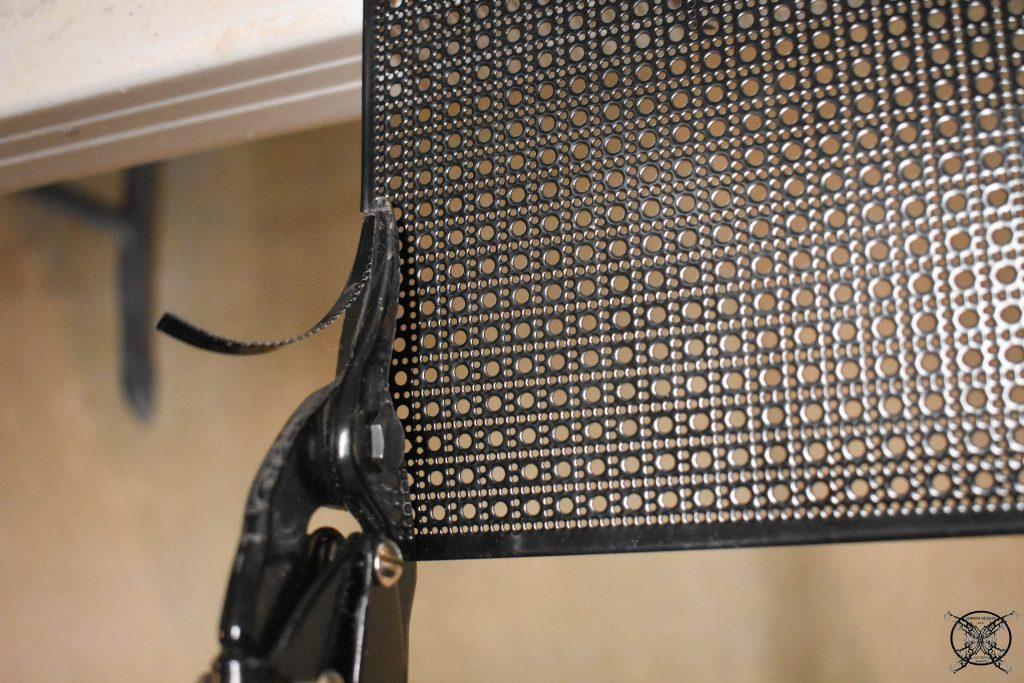 Antique Radio Adding Mesh Speaker Screen JENRON DESIGNS