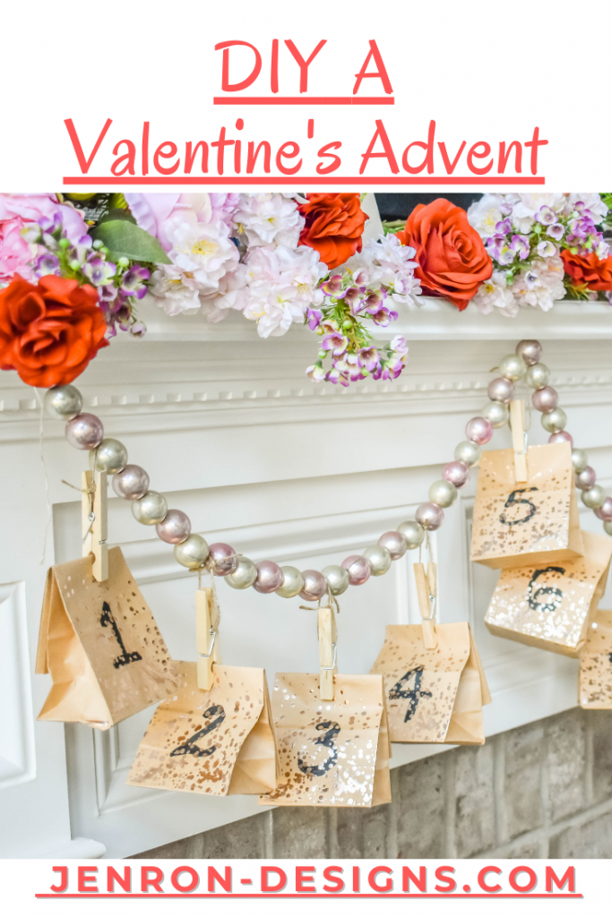 DIY A Valentines Advent JENRON DESIGNS