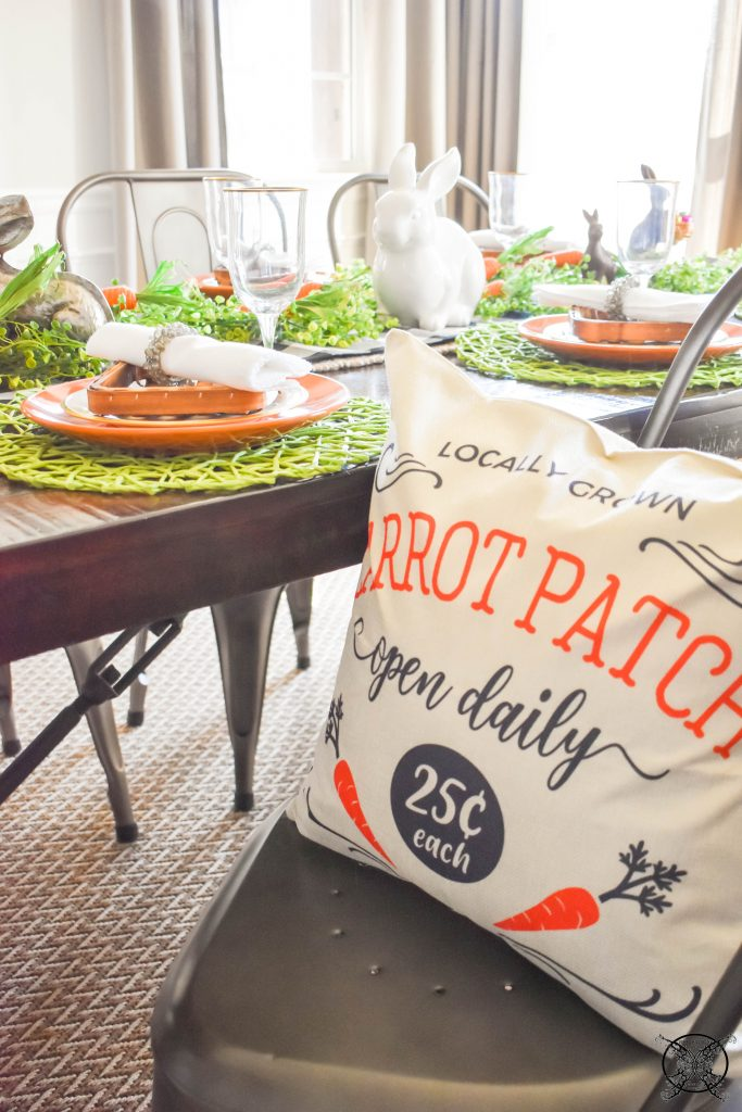 Carrot Patch Pillows JENRON DESIGNS