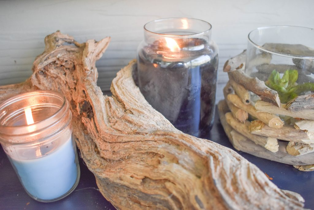Driftwood & Candles JENRON DESIGNS