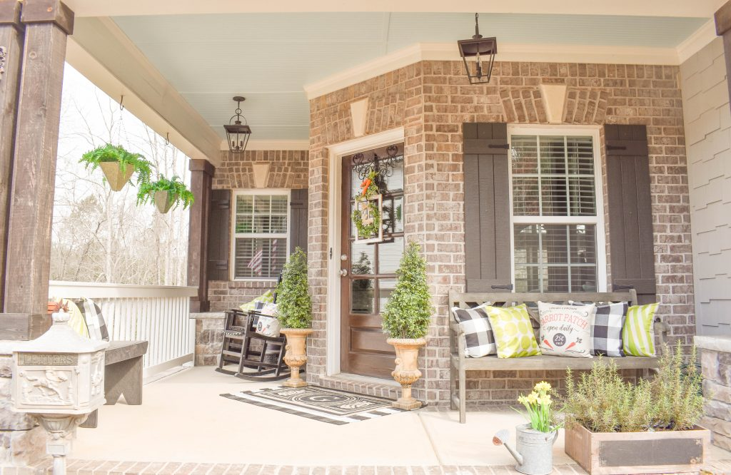 Easter Spring Front Porch JENRON DESIGNS