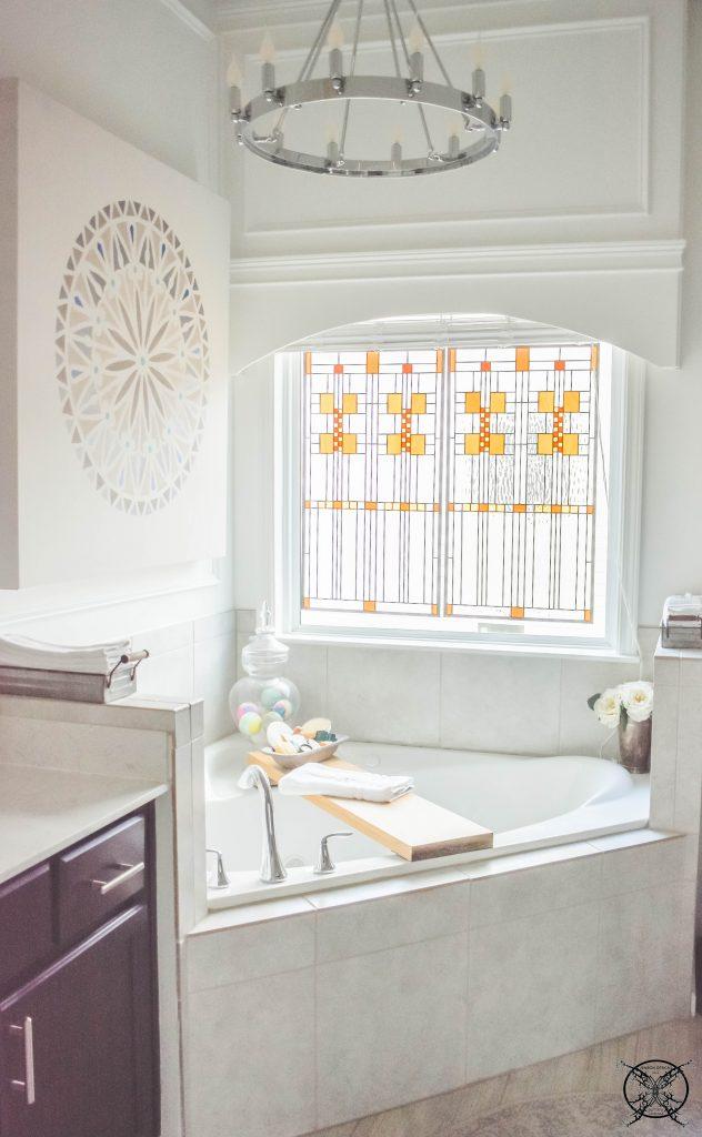 Master Bathroom Garden Tub JENRON DESIGNS