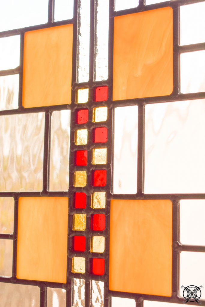 Master Bathroom Stained Glass Windows JENRON DESIGNS