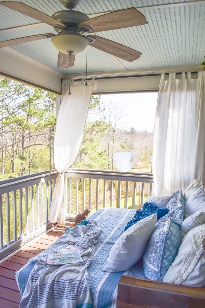 Sleeping Porch Refresh JENRON DESIGNS
