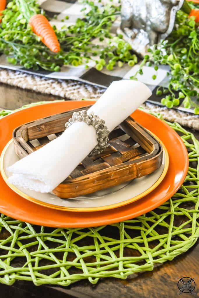 Tabacco Egg Basket Tablescapes JENRON DESIGNS