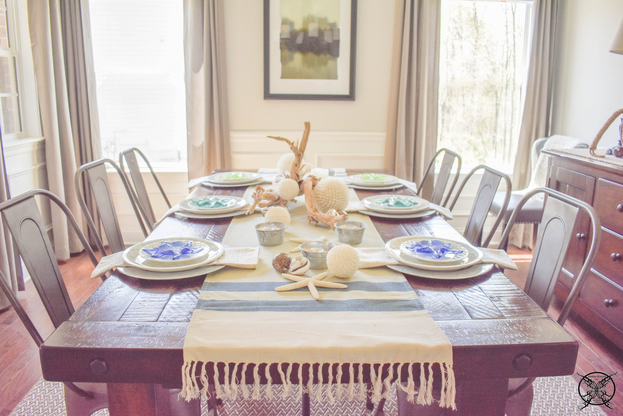 Dining Table for Beachcombers JENRON DESIGNS