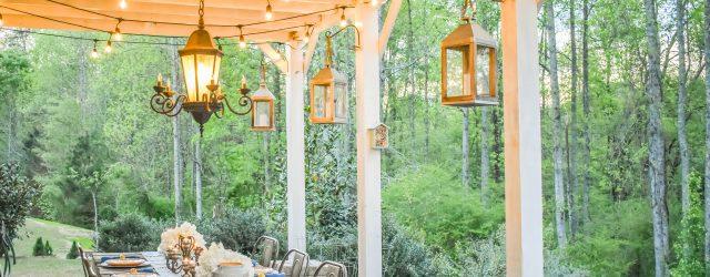 Installing Chandelier & Outdoor Globe Lights JENRON DESIGNS