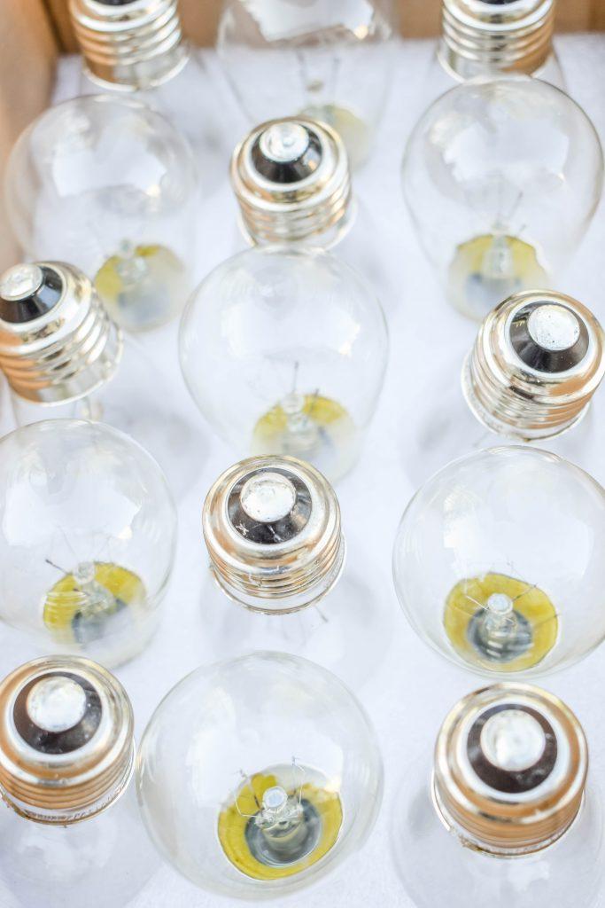 Installing Light Bulbs JENRON DESIGNS.
