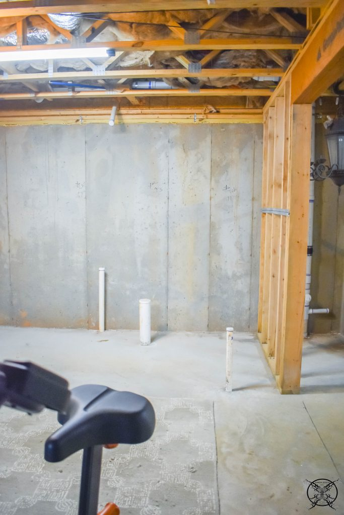 Before Pictures Home Gym Space JENRON DESIGNS
