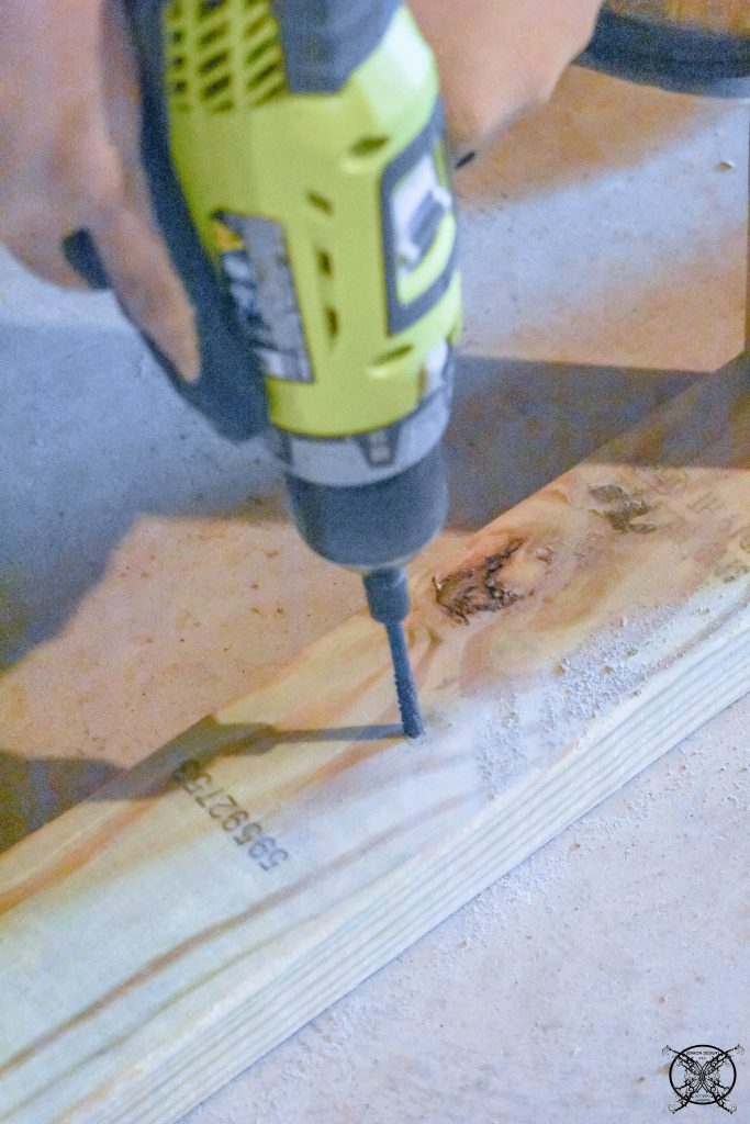 Drilling the Baseplate JENRON DESIGNS