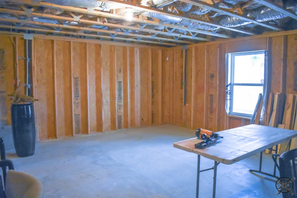 JENRON DESIGNS BASEMENT BEFORE PICTURES