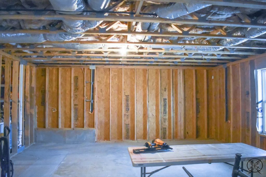 JENRON DESIGNS ORC BASEMENT BEFORE PICTURES