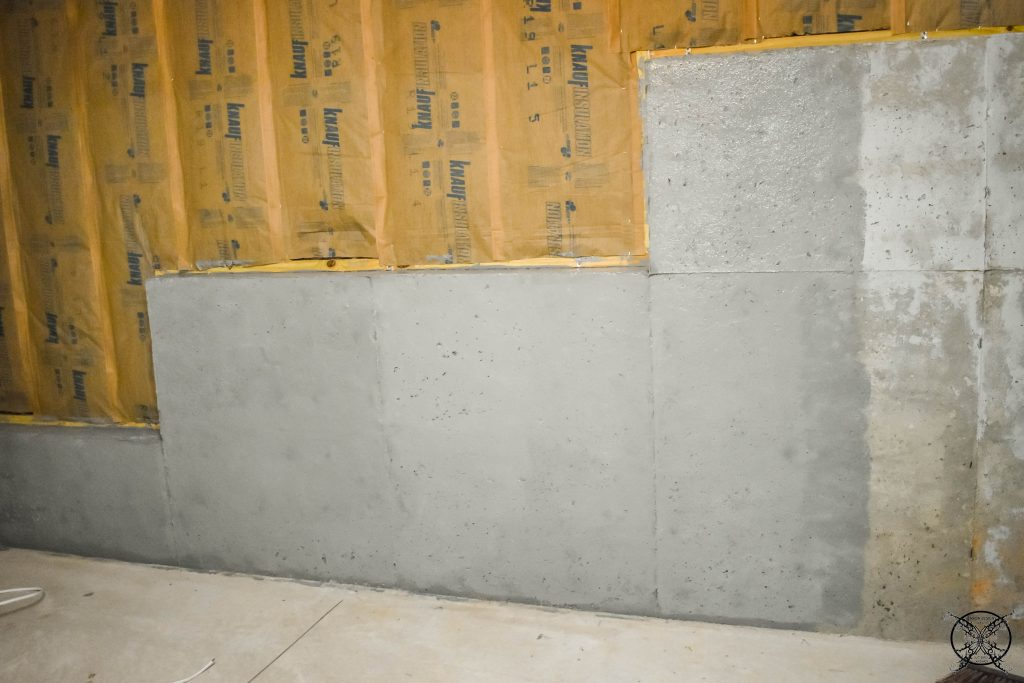 Painting the Concrete JENRON DESIGNS