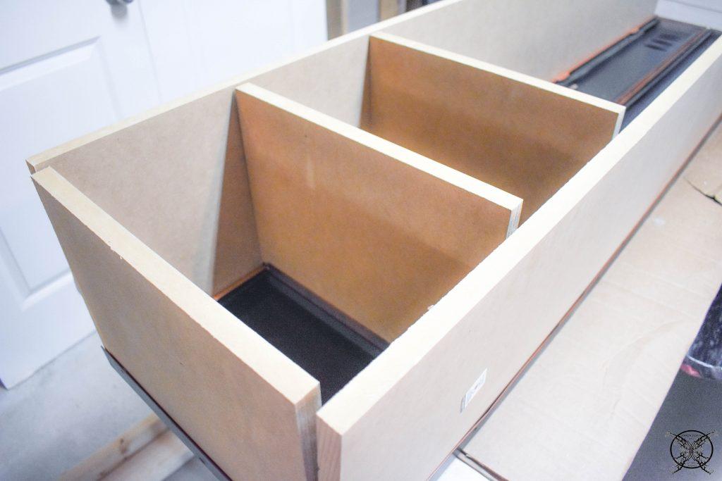 Adding Shelves Vintage Locker JENRON DESIGNS