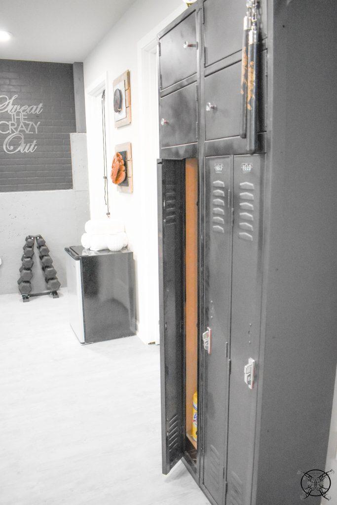 Home Gym Lockers JENRON DESIGNS