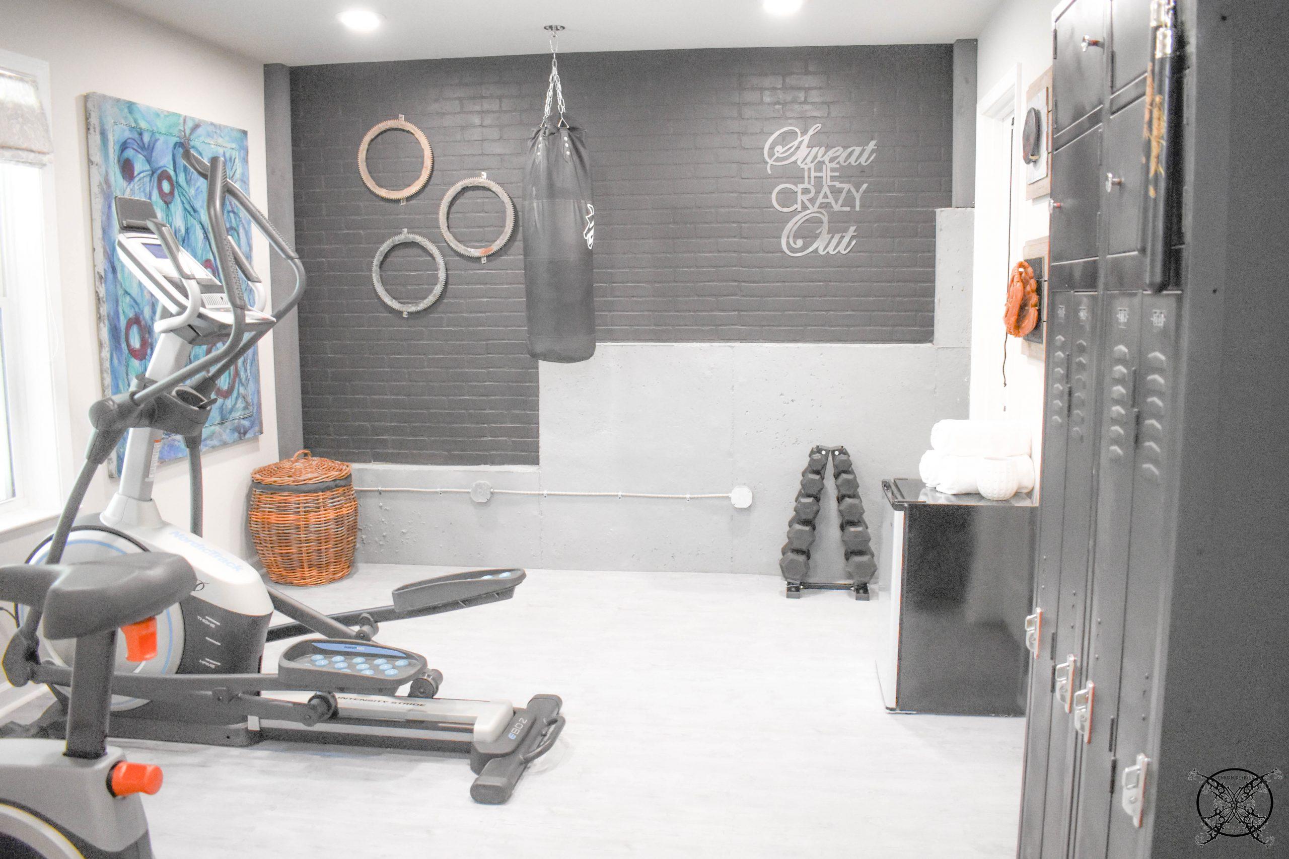 Home Gym Reveal JENRON DESIGNS