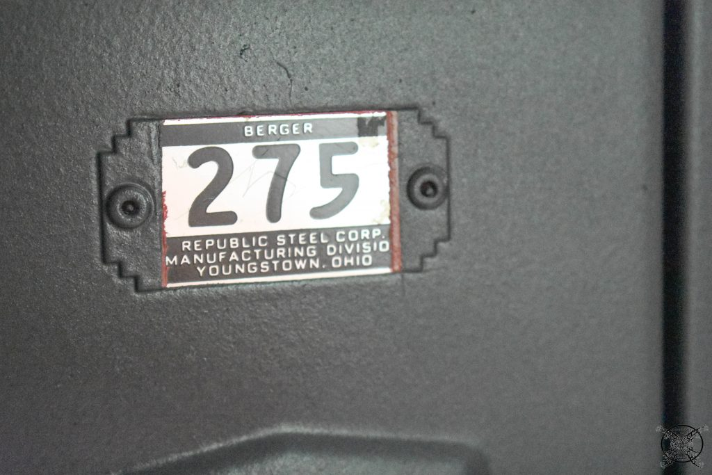 Numbers Vintage Locker JENRON DESIGNS