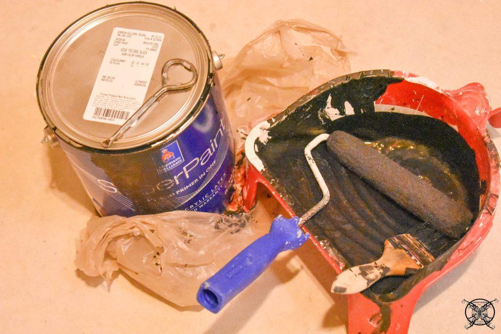 Tricorn Black On sides of Vintage Locker JENRON DESIGNS