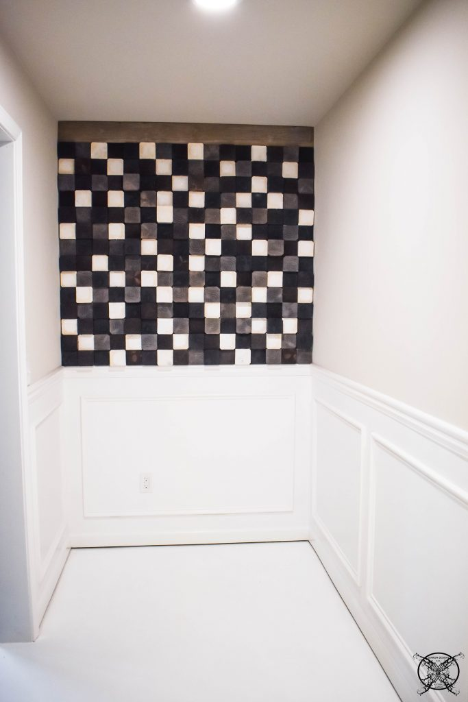 Accent wood Wall JENRON DESIGNS