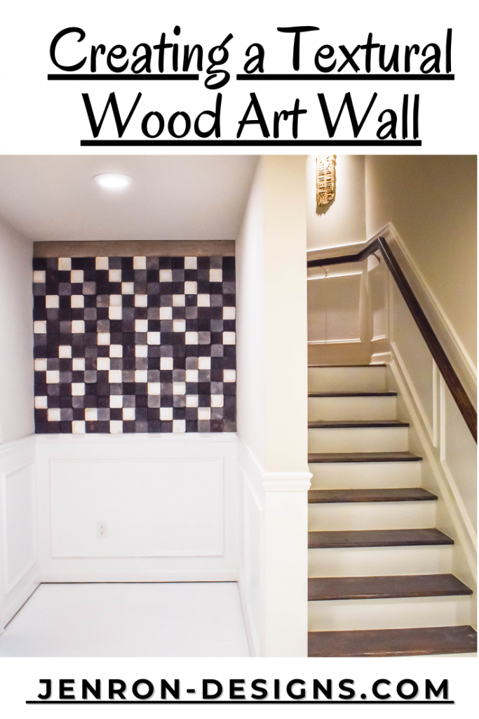 DIY A wood accent wall JENRON DESIGNS