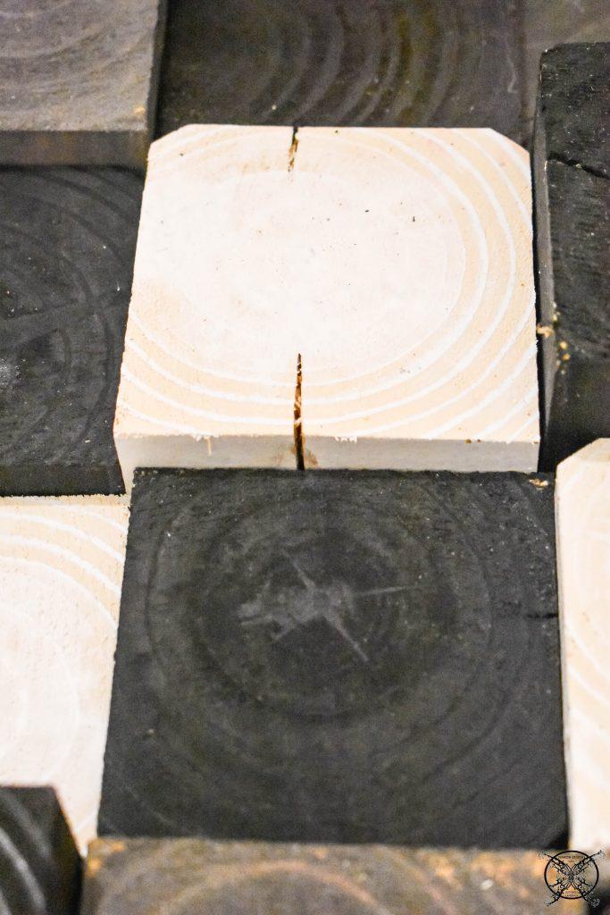 Filling gaps wood JENRON DESIGNS