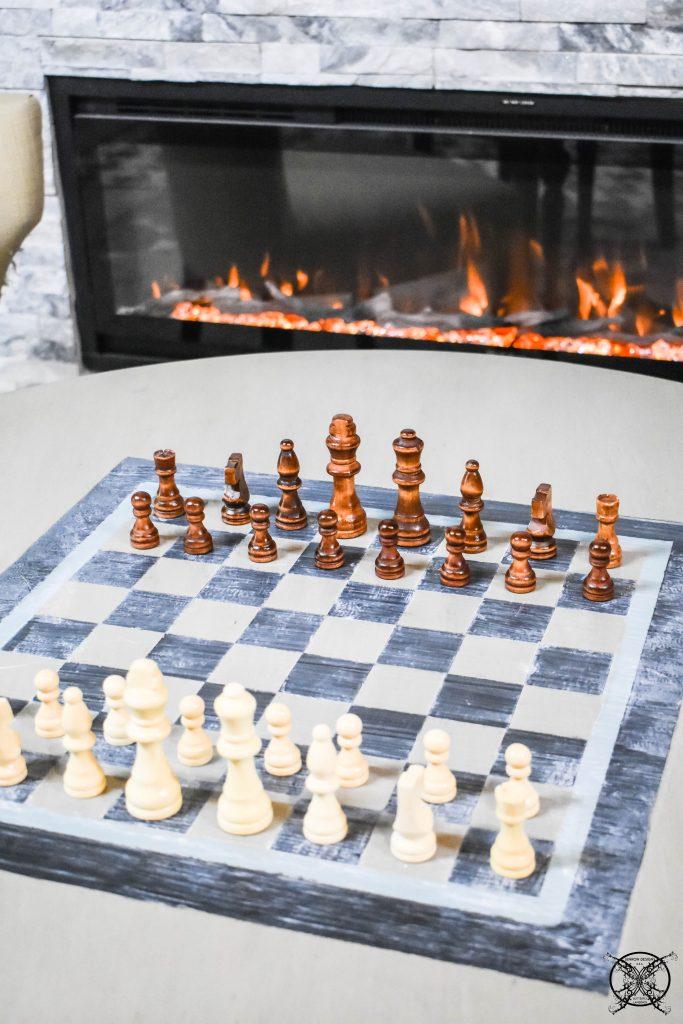 GAME TABLE DIY BOARD FINISHED JENRON DESIGNS.