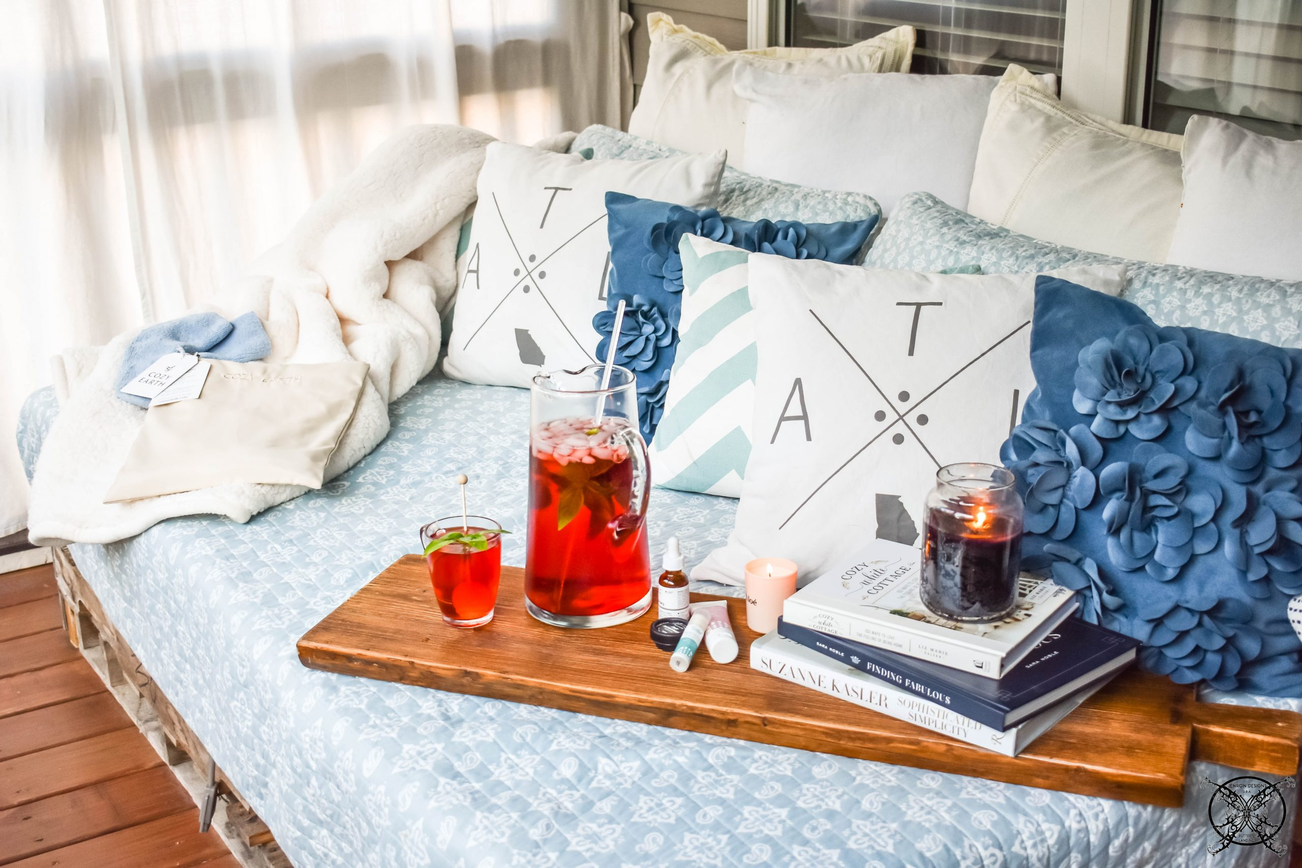 Self Care tips with Cozy Earth PJs JENRON DESIGNS