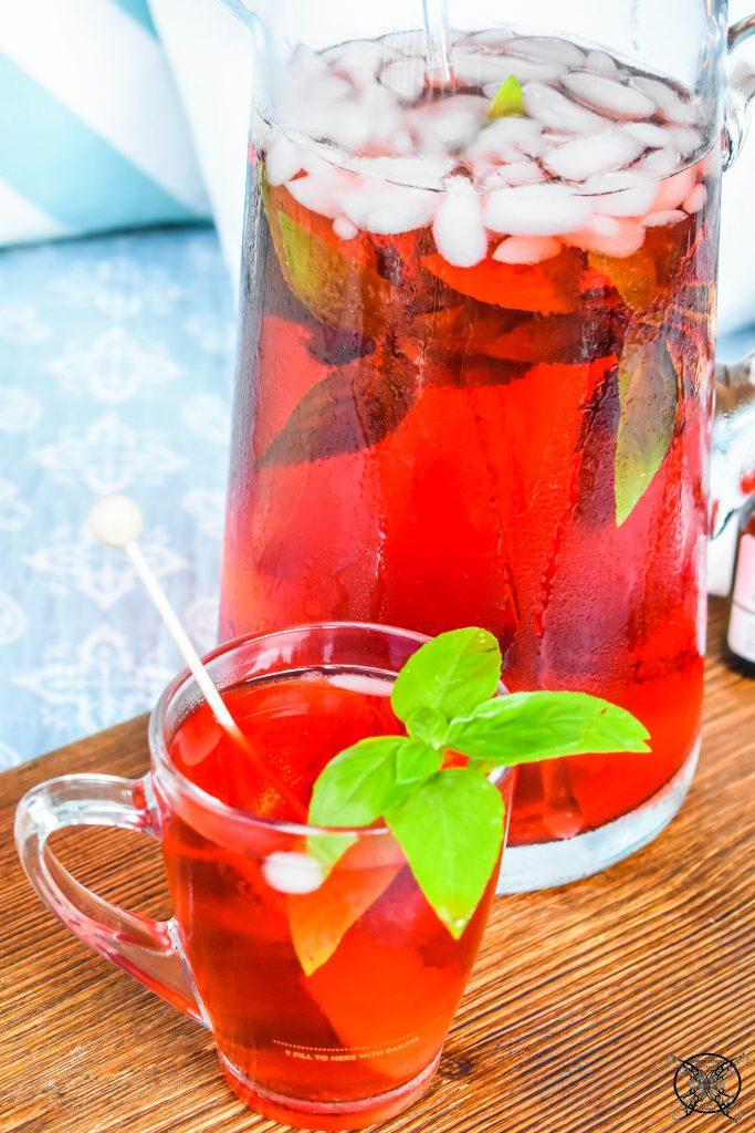 Strawberry Basil Tea JENRON DESIGNS