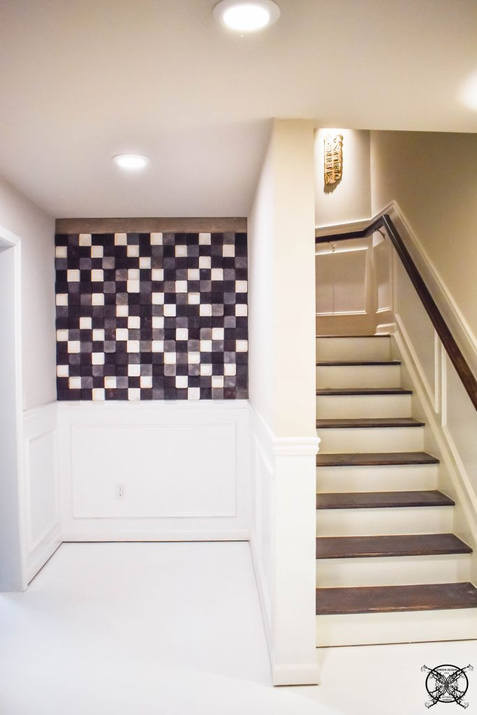 Complete wood accent wall JENRON DESIGNS