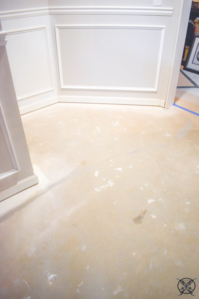 FLOORS BEFORE JENRON DESIGNS