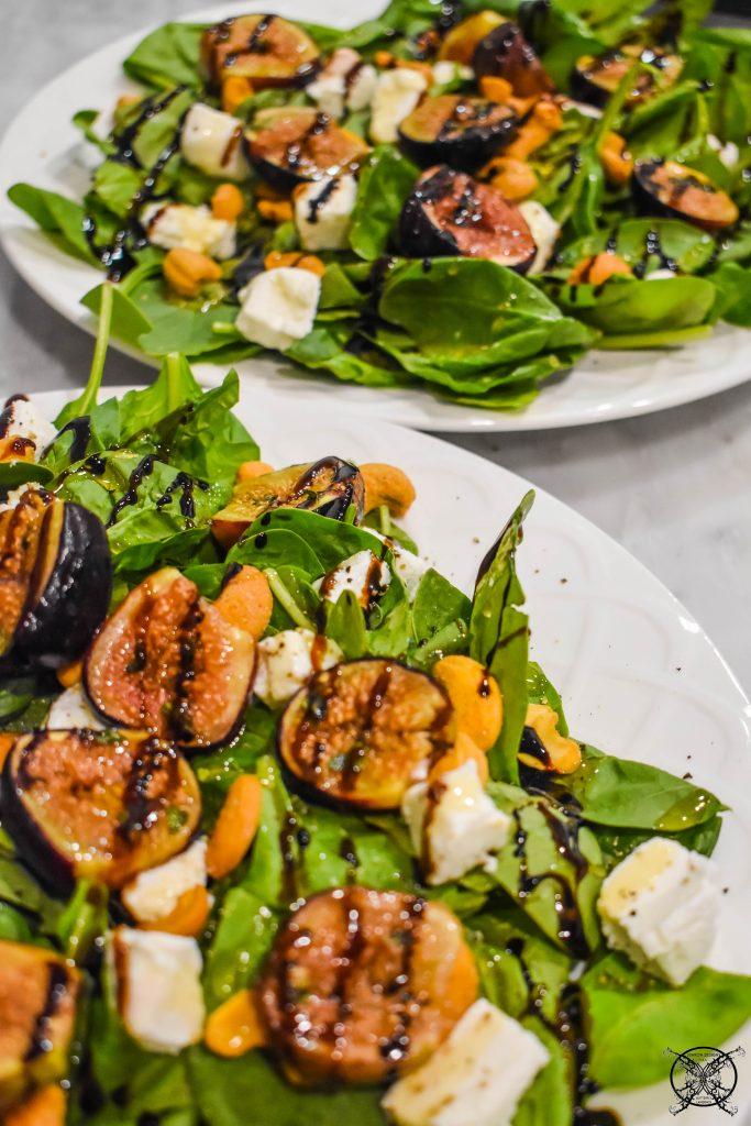 Roasting Figs for Salad JENRON DESIGNS