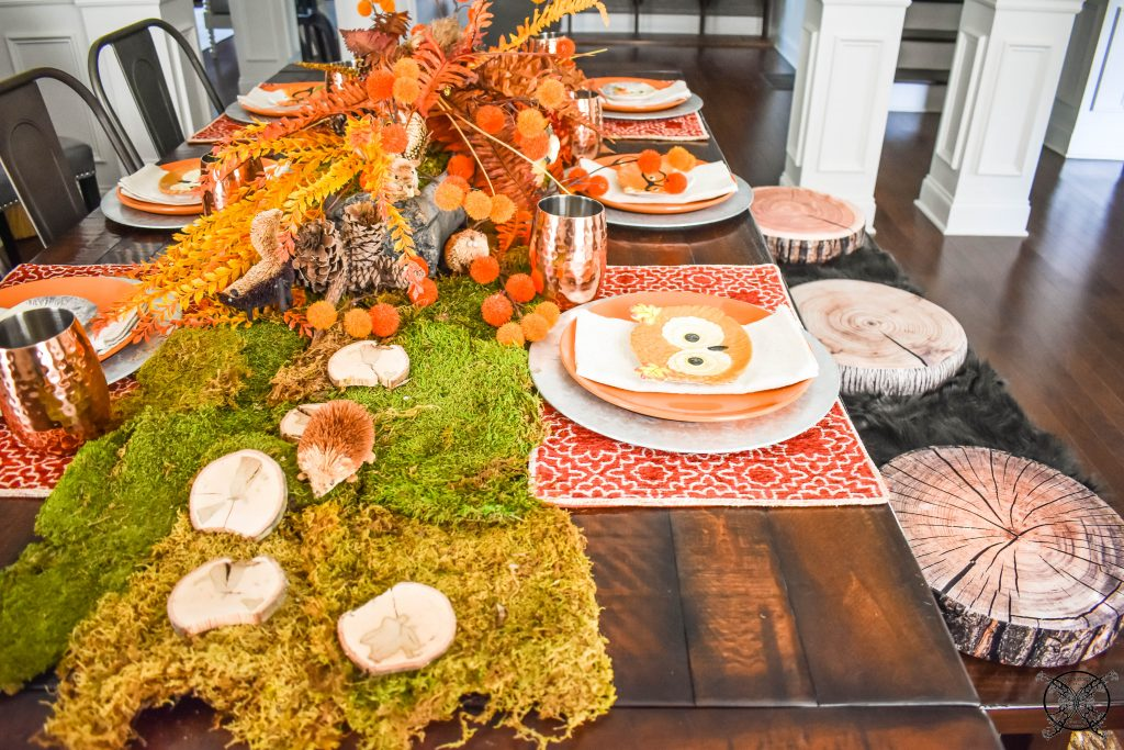 Woodland & Foxhollow Table JENRON DESIGNS