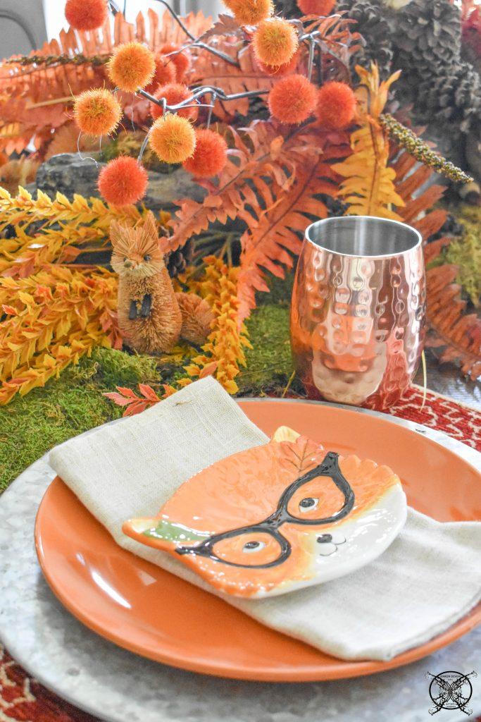 Woodland copper Tablescape JENRON DESIGNS