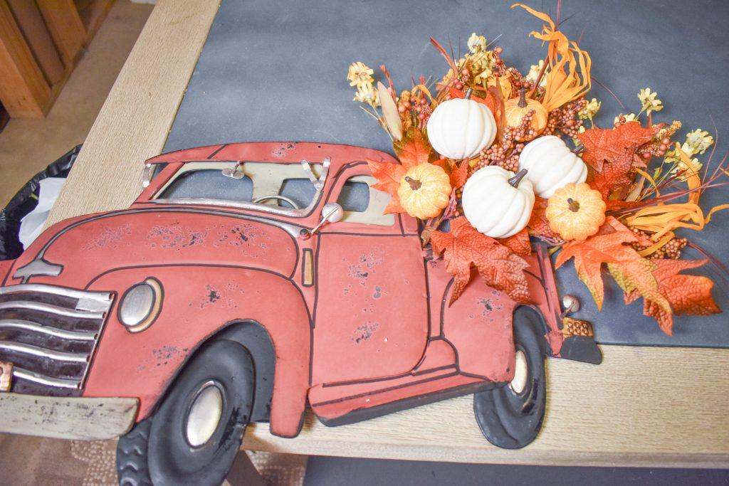 Truck Wreath Layout JENRON DESIGNS